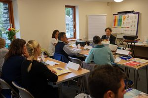 training in Ambleside, classroom